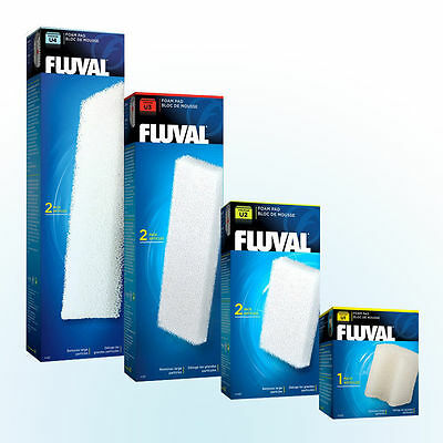 Fluval U Replacement Foams For U Series Internal Filters Mini U1  U2 U3 U4