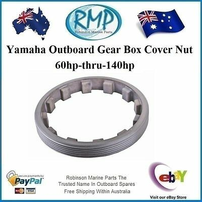 A Brand New Gear Box Cover Nut Suits Yamaha 60hp-thru-140hp # 688-45384