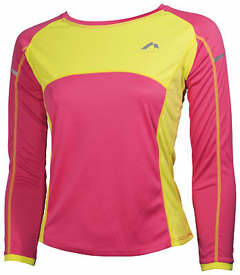 More Mile Girls Long Sleeve Running Top