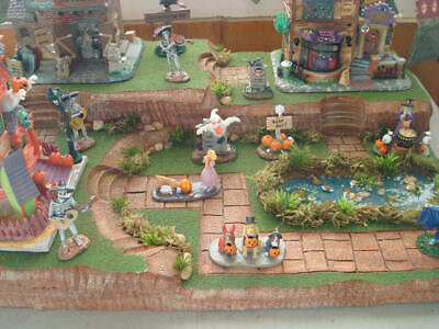 Halloween Christmas Easter Village Display Platform Base HW23 - Dept 56 Lemax