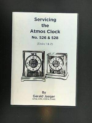 Servicing the Atmos Clock DVD by Gerald Jaeger