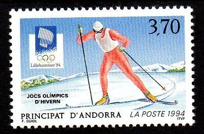 Andorre, French - 1994 Olympic games Lillehammer Mi. 462 MNH