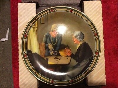 """Knowles Norman Rockwell Plate - """"A Family's Full Measure""""  - Original Packaging"""