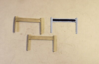 P&D Marsh N Gauge n Scale B31 GWR Station nameboards (2) casting needs paintng