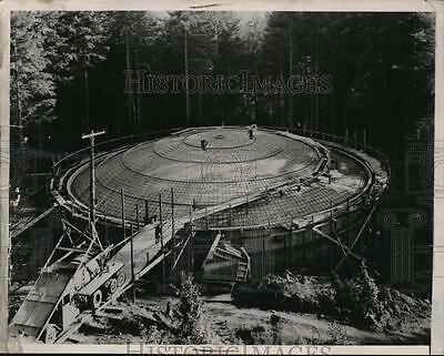 1937 Press Photo Huge filter tank to serves Booming Paper Industry in Camas,Wash