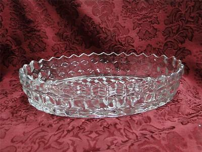 "Fostoria American Clear: Floating Garden Bowl 10"" AS IS"
