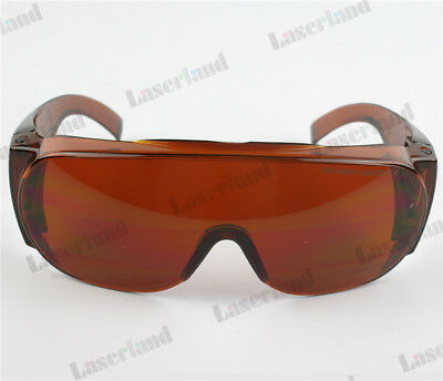 405nm 532nm 980nm-1064nm UV Green IR Laser Protection Goggles safety Glasses OD4