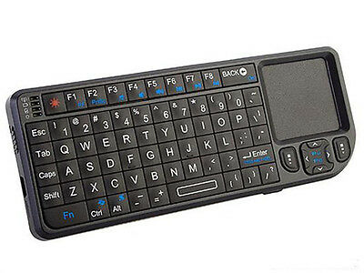 Rii Mini 2.4GHz Wireless Keyboard with Touchpad Laser pointer for PC