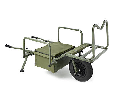 Trakker NEW X-Trail Gravity Fishing Barrow *FREE Trakker Barrow Strap Worth £10*