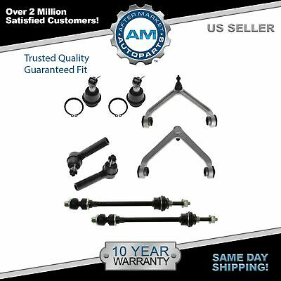 Control Arm Ball Joint Tie Rod Sway Link LH Kit Set of 8 for 02-05 Ram 1500 4WD