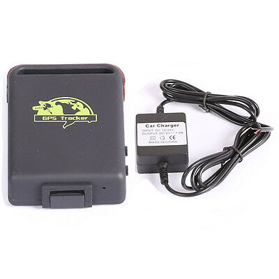 Mini Car Vehicle GPS Tracker TK102-2 with TF Card Slot + Hard-wired Car Charger