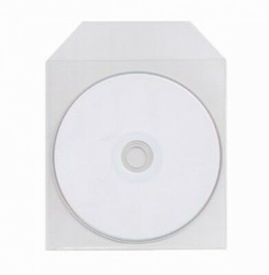 5000 CPP Clear Plastic Sleeve with Flap