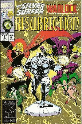 Silver Surfer/warlock: Resurrection #1 (Of 4) (Marvel)