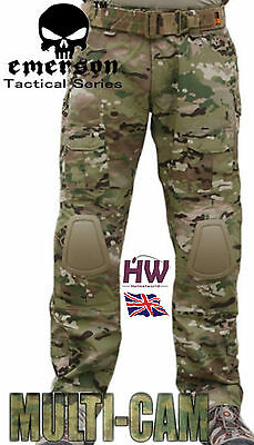 Airsoft Emerson Gen 2 Pants Trousers Multicam Mtp Knee Pads 36-38 Crye Style