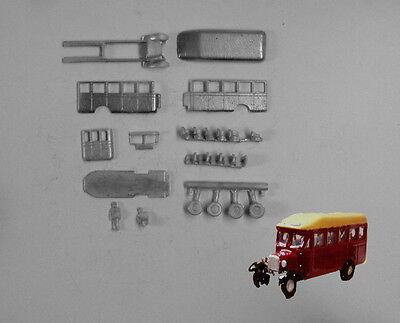 P&D Marsh N Gauge n Scale E35 Bedford WLB singledeck bus kit requires painting