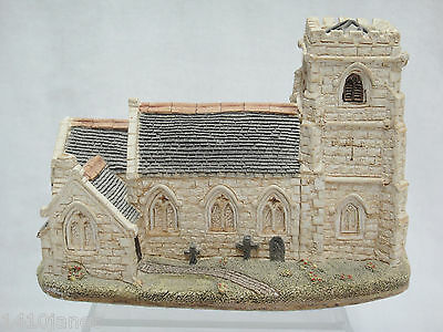 Lilliput Lane St Marys Church of England Woodkirk Figurine Chipped