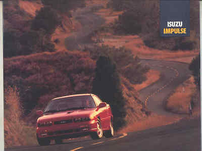 1992 Isuzu Impulse Brochure mx9435