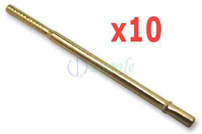 10pcs R100-2T Spring Test Probes Pogo Pin Receptacle 17.5mm/3A for P100 Series