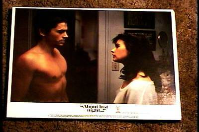 About Last Night 1986 Lobby Card #1 Rob Lowe Demi Moore