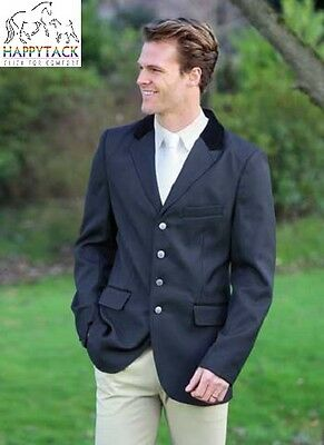 New RRP£70 Shires Mens Black STANLEY Competition Show Jacket all sizes 36 to 48""