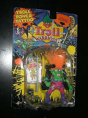 VINTAGE 1993 TYCO DOLL TROLL WARRIORS KNUT THE INVENTOR MOC