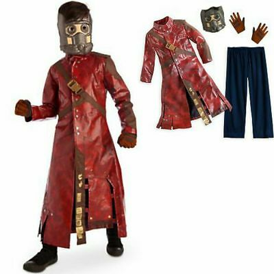 Disney Store Deluxe Guardians of the Galaxy Star-Lord Costume 7-8 10 New Child