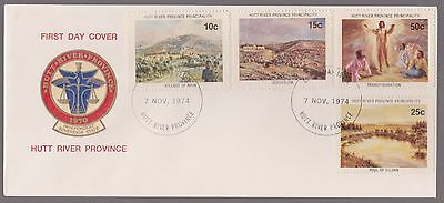 1974 Australia Hutt River Province CHRISTMAS FDC with Insert