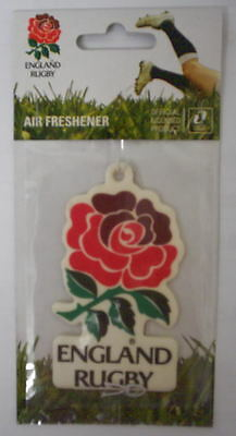 6x ENGLAND RUGBY AIR FRESHENER OFFICIAL - BRAND NEW