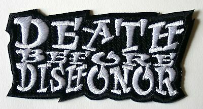 Death Before Dishonor White Patch