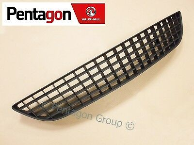 New Genuine Vauxhall Astra H MK5 3 Door Front Lower Bumper Grille Grill 13235935