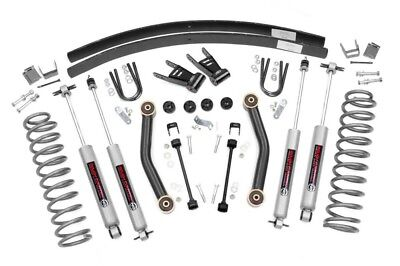 "Jeep Cherokee XJ 4.5"" Suspension Lift Kit w/ N2.0 Shocks 1984-2001"