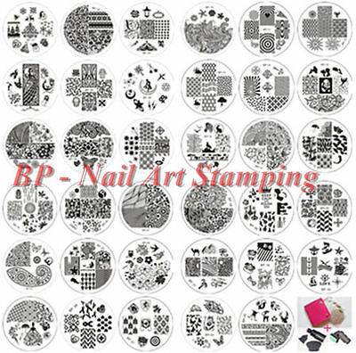 BORN PRETTY Ongle Nail Art Stamp Stamping Template Image Plaque Decorations