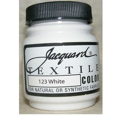 Jacquard White' Natural Or Synthetic Fabric Paint
