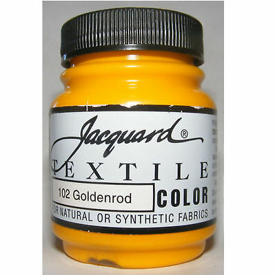 ''goldenrod' ' Natural Or Synthetic Fabric Paint
