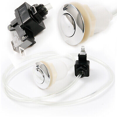 Self Lock Sink Top Garbage Disposal Air Switch Button Set with 100cm Air Hose