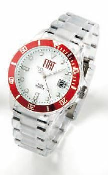 Genuine Fiat Quartz Watch With Red Ring Merchandise