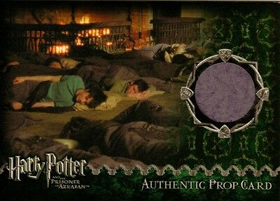 Harry Potter Prisoner of Azkaban Update Sleeping Bag Prop Card 0182/1980 ArtBox
