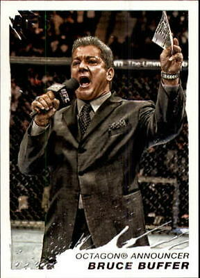 2011 Topps UFC Moment of Truth #149 Bruce Buffer - NM-MT