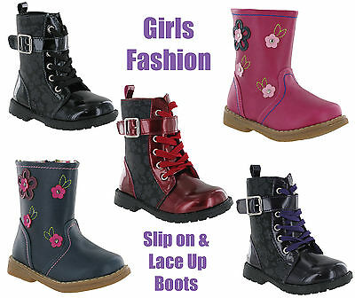 Fashion Winter Ankle Designer Girls Kids Boots By Chatterbox Size 4-10