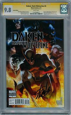 Daken Dark Wolverine #4 Retail Variant Cgc 9.8 Signature Series Signed Stan Lee