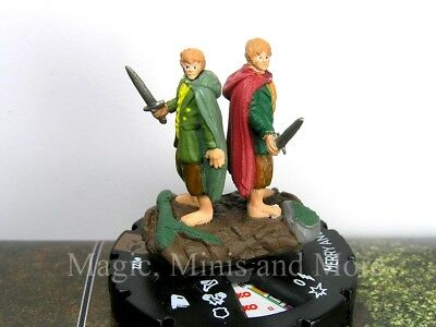 Lord of the Rings MERRY AND PIPPIN #22 Heroclix LOTR LE CHASE SECRET RARE #022