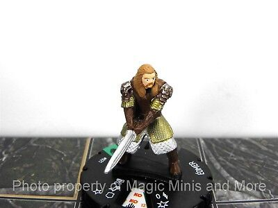 Lord of the Rings EOMER #21 HeroClix LOTR Two Towers miniature Wizkids #021