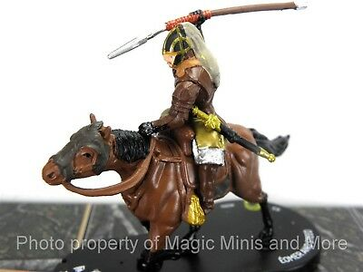 Lord of the Rings EOMER AND STEED #30 HeroClix LOTR Two Towers super rare #030