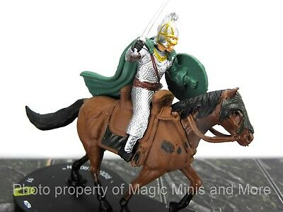 Lord of the Rings RIDER OF ROHAN #29 HeroClix LOTR Two Towers super rare #029