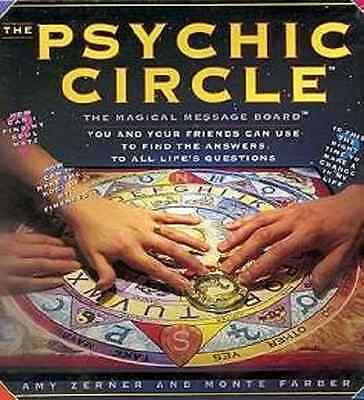 Psychic Circle Message Board by Zerner/ Farber Fortune Wicca Ouija Style Spirits