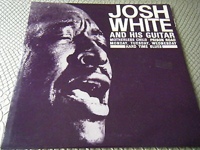 "Josh White & His Guitar - Vinyl 7"" EP GEP8841 VG+/VG+"