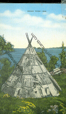 INDIAN TEPEE-M45-LINEN-(INDIAN-314)