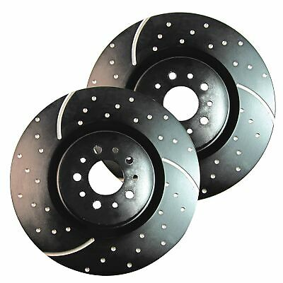 fit SEAT VW PAIR GD480 EBC Turbo Grooved Brake Discs Front