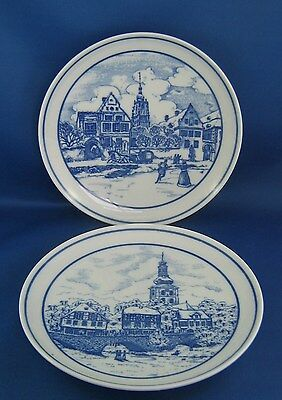 Two Hutschenreuther Made In Germany Limited Edition 7 7/8 Inch Plates