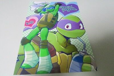 Teenage Mutant Ninja Turtles doujinshi A5 24pages very strong strawberry DASH4